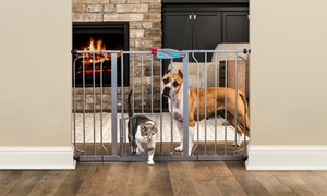 Carlson Extra Wide Pet Gate with Door