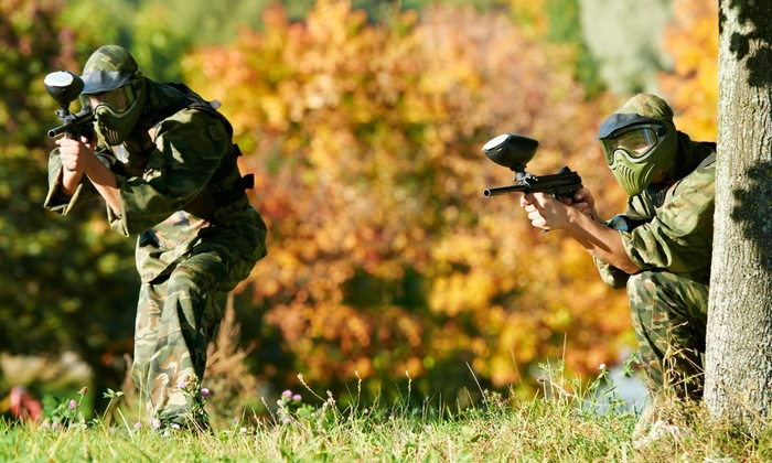 Drop Zone Paintball - Overbrook: Up to 58% Off Level 1 Paintball at Drop Zone Paintball