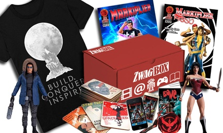 One- or Three-Month Zwag Box Subscription, or $10 for $20 Toward Any Markiplier Poster