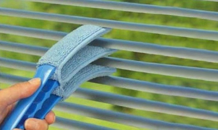 Ashley Housewares Triple Venetian Blind Cleaner