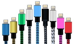 Câble tressé compatible iPhone