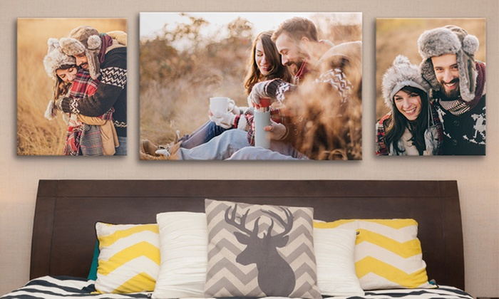 photos on canvas from canvas on demand groupon