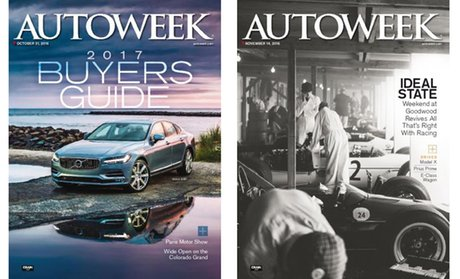 1-Year, 24-Issue Subscription to Autoweek Magazine!