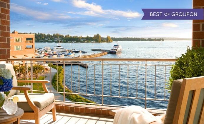4-Star Lakefront Resort near Seattle