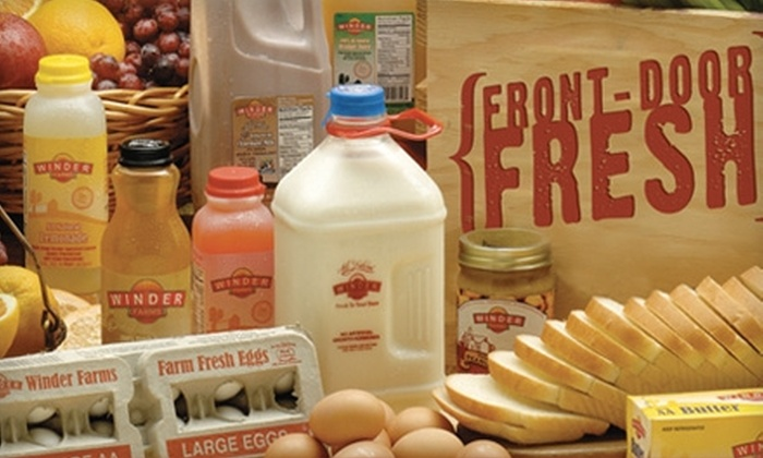 Winder Farms - Ogden: $20 for $50 Worth of Home-Delivered Groceries Plus Waived Sign-Up and Delivery Fees from Winder Farms
