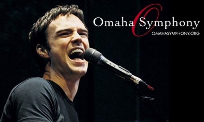 Omaha Symphony - Multiple Locations: Main-Floor or Orchestra-Level Seating at Michael Cavanaugh in Concert with the Omaha Symphony, Featuring the Music of Elton John and More. Choose from Three Dates.