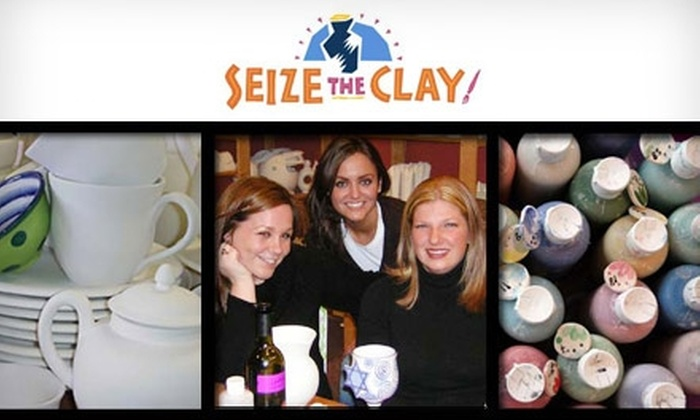Seize the Clay - Masjid Al-Noor Housing Development Corp: $15 for $30 Worth of Personalized Ceramics and Studio Time at Seize the Clay