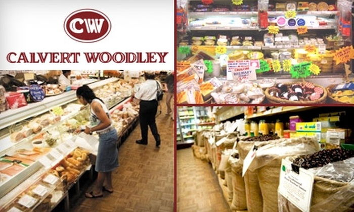 Calvert Woodley Fine Wines and Spirits - Van Ness - Forest Hills: $10 for $20 Worth of Cheese, Deli Meats, Specialty Foods, and More at Calvert Woodley's La Cheeserie and International Deli