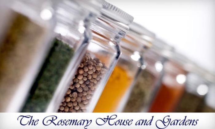 The Rosemary House - Mechanicsburg: $4 for $8 Worth of Herbs and Spices at The Rosemary House
