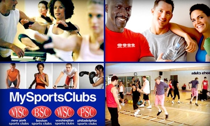 Washington Sports Clubs - Multiple Locations: $29 for a Two-Week Membership and Three Personal Training Sessions at Washington Sports Club ($99 Value)