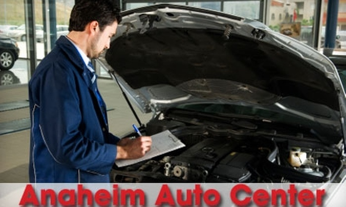 Anaheim Auto Center - Orange County: $45 for Wheel Alignment and Tire Rotation at Anaheim Auto Center ($115 Value)