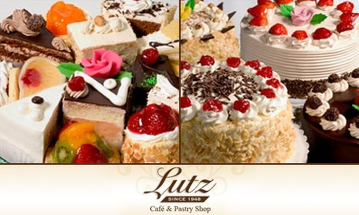 Lutz Cafe and Pastry Shop - Ravenswood: $5 for $10 Worth of Cakes, Pastries, and More at Lutz Café and Pastry Shop
