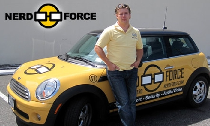 Nerd Force - New York City: $49 for $200 Worth of On-Site Computer Help from Nerd Force