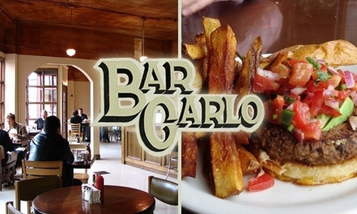 Bar Carlo - Foster - Powell: $12 for $25 Worth of Quaint Cuisine and Drinks at Bar Carlo