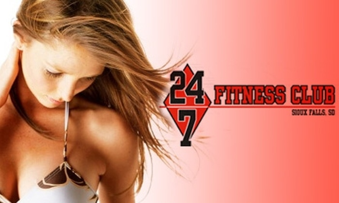 24/7 Fitness Club - Downtown: $16 for One Month of Unlimited Tanning at 24/7 Fitness Club ($40 Value)