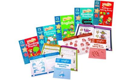 Gold Stars Five-Book Educational Bundlefor Kids
