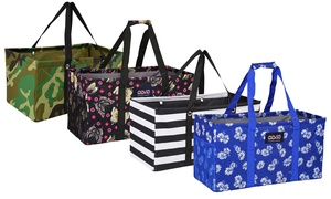 Reusable and Collapsiple Grocery Shopping Utility Tote Bag
