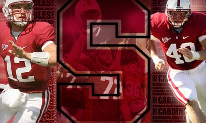 Stanford University Football - Stanford University: $17 for One Goal-Line Ticket to the Stanford University vs. Oregon State Football Game on November 27