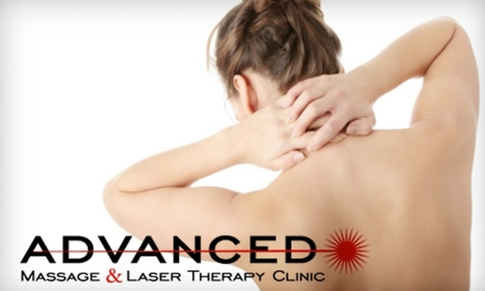 Advanced Massage and Laser Therapy - Tuxedo: $45 for a Half-Hour Massage and Cold Wave Laser Therapy ($90 Value) or $42 for a Spinal Decompression Session ($85 Value) at Advanced Massage and Laser Therapy