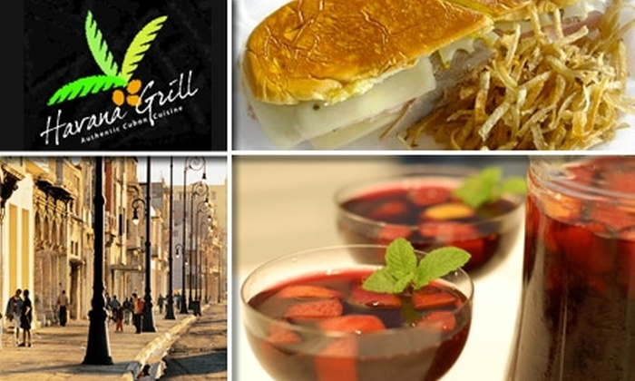 Havana Grill - Cary: $7 for $15 Worth of Cuban Sandwiches, Soup, and Savories at Havana Grill