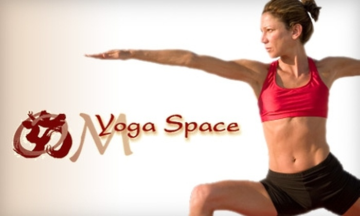 OM Yoga Space - Sudbury: $39 for Five 90-Minute Classes at OM Yoga Space