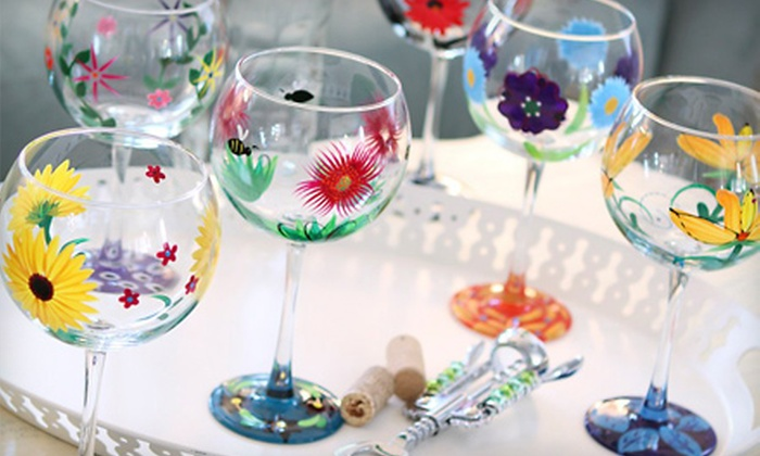 LaniDesigns.com: $11 for $22 Worth of Hand-Painted Glassware from LaniDesigns.com