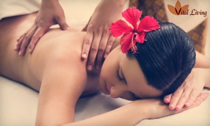 Vital Living Therapeutic Massage - Fort Wayne: $39 for an Infrared Body Wrap at Vital Living Therapeutic Massage