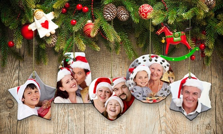 .95 for One Personalised Ceramic Christmas Ornament Don't Pay up to $179.55