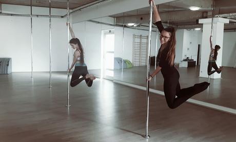 Pole Dance oder 3er- oder 6er-Karte für Fitnesskurs nach Wahl im Aerial Gym