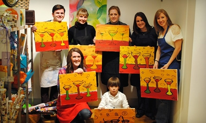Splash - Downtown Colorado Springs: $20 for One Painting Class and a Beverage at Splash (Up to $40 Value)