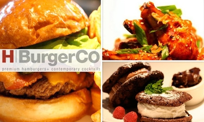 HBurgerCo - LoDo: $5 for $10 Worth of Burgers and More at HBurgerCo