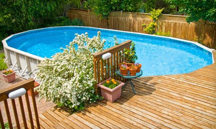 Hammerhead Power Washing - Jacaranda: $59 for Pressure Washing on a Pool Deck, Lanai, or Driveway from Hammerhead Power Washing ($125 Value)