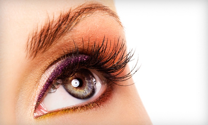 Permanant Cosmetics Studio - West Markham: Full Set of Lashes at Permanent Cosmetics Studio (Half Off). Two Options Available.