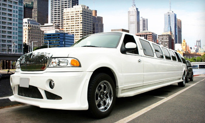 Absolute Transportation - Cheatom Park: $39 for a Two-Hour Holiday-Lights Limo-Bus Tour for Two from Absolute Transportation ($90 Value). 8 Dates and Times Available.