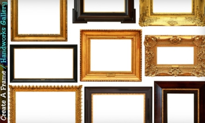Create A Frame/Handworks Gallery - Mount Lebanon: $40 for $100 Worth of Custom Framing at Create A Frame/Handworks Gallery