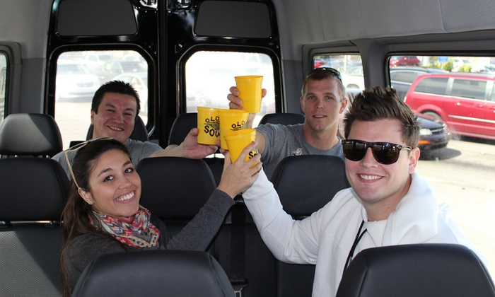 White Glove Executive Transport inc.: Two or Four Tickets for the Bier Bus Brewery Tour from White Glove Executive Transport Inc. (Up to 55% Off)