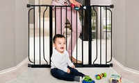 Deals on Regalo Extra-Wide Walk-Through Baby Safety Gate
