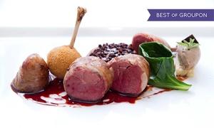 Quanto Basta: Menu degustazione da 9 portate con calice di vino per 2 persone al ristorante Quanto Basta, Torino centro (sconto 55%)