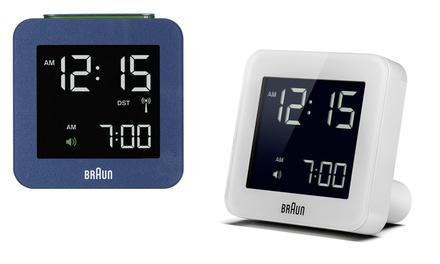 Orologio sveglia Braun disponibile in 2 colori