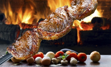 All-You-Can-Eat Brazilian Barbecue Rodizio Meat Feast with Hot and Cold Buffet for Up to Six at Brassett Churrascaria