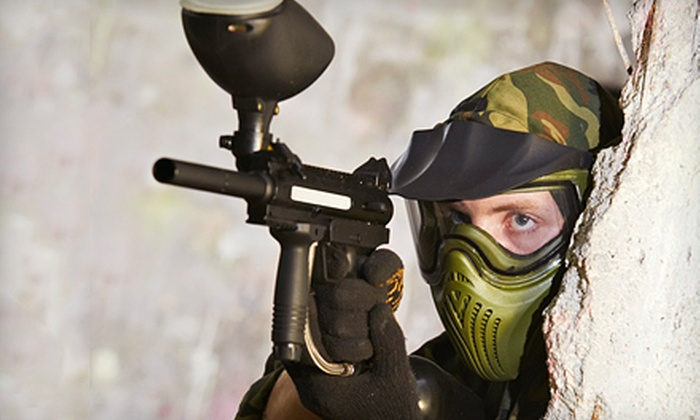 Diamond Hill Paintball - Harrisburg: Three-Hour Paintball Outing with Equipment Rental for One, Four, or Six at Diamond Hill Paintball (Up to 55% Off)