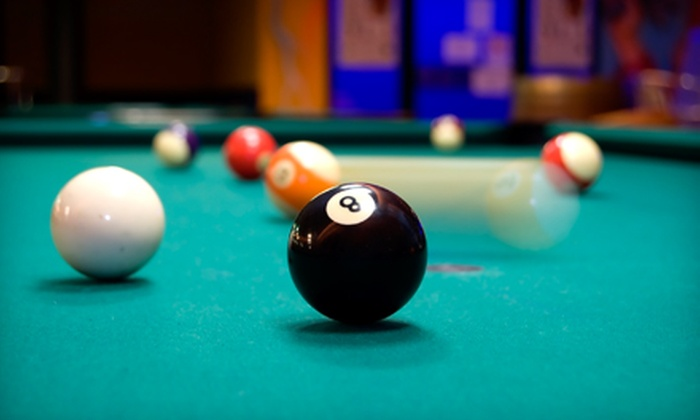 Rialto Poolroom Bar & Cafe - Downtown: $20 for Pool, Dinner, and Drinks for Two at Rialto Poolroom Bar & Cafe (Up to a $44 Value)