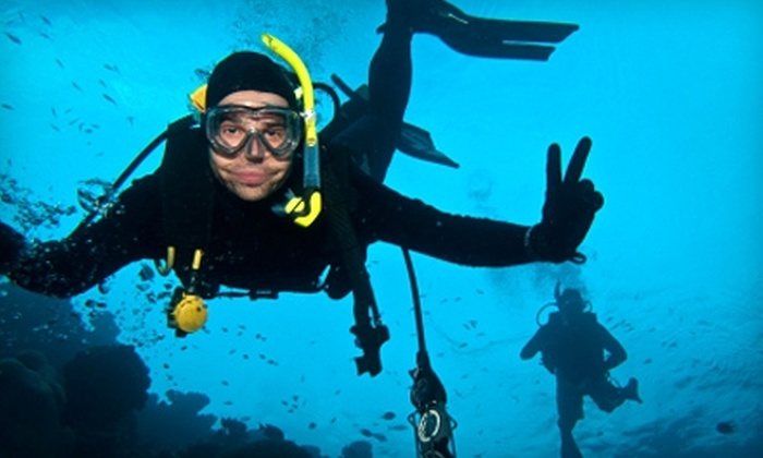 Underworld Scuba & Sport - Multiple Locations: $20 For a Discover Scuba Beginner Diving Class ($40 Value) at Underworld Scuba & Sport