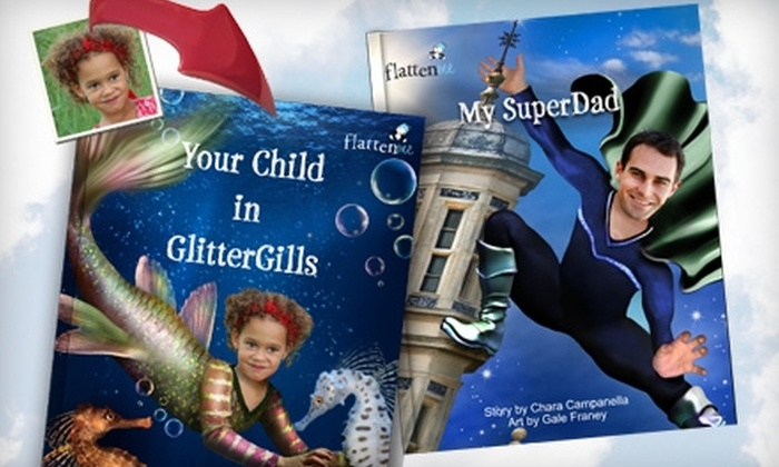 Flattenme: $14 for $28 Worth of Personalized Storybooks from Flattenme