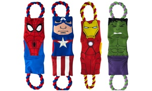 Marvel Comics Treat Pull Squeaky Toy for Dogs