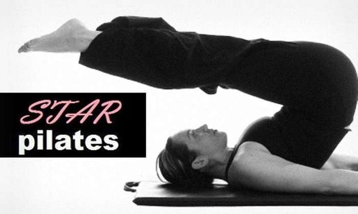 Star Pilates - Fitler Square: $40 for Three One-on-One Pilates Lessons at Star Pilates