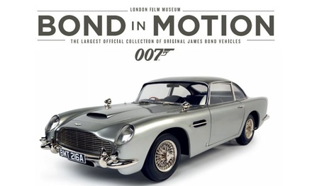 Bond in Motion, 6 April–6 July at London Film Museum (Up to 50% Off)
