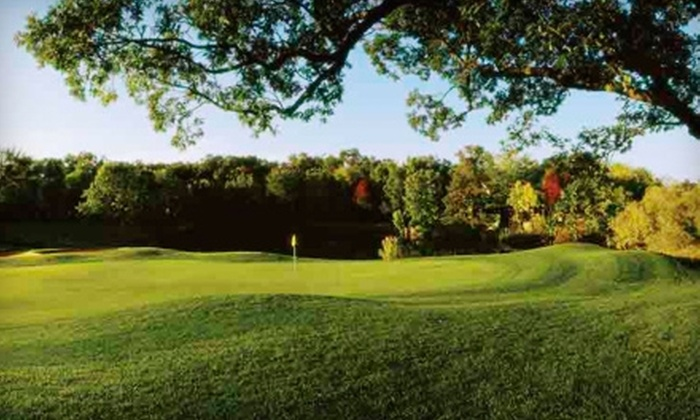 The Abbey Resort - Fontana-on-Geneva Lake: $186 for Play & Pamper Spring Golf Getaway Package for Two at The Abbey Resort on Lake Geneva in Fontana (Up to $339 Value)
