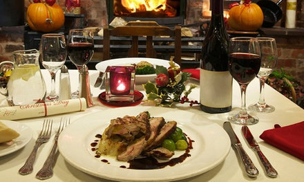 Three-Course Boxing Day Lunch with Drink for One Child or One or Two Adults at Himley Country Hotel (Up to $40% Off)