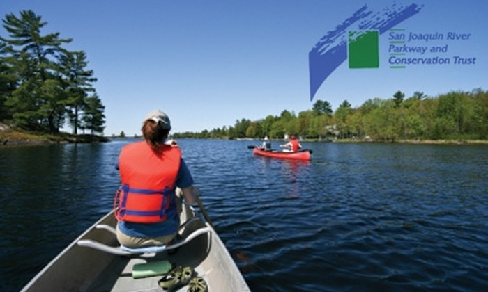 San Joaquin River Parkway and Conservation Trust  - North Growth Area: $15 for a Half-Day Downriver Canoe Trip from the San Joaquin River Parkway and Conservation Trust ($30 Value)